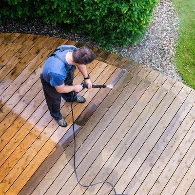 deck cleaning near me