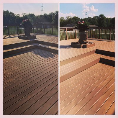 deck painting service