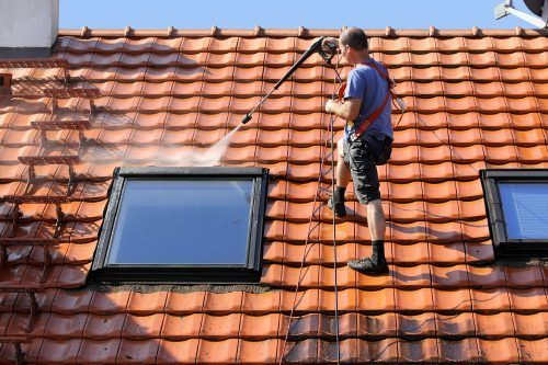 roof washing service indianapolis